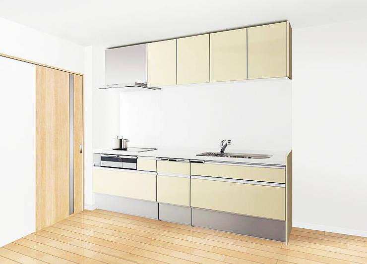 リフォーム実績 オリジナルデザインの キッチン の みつわリフォーム オリジナル
