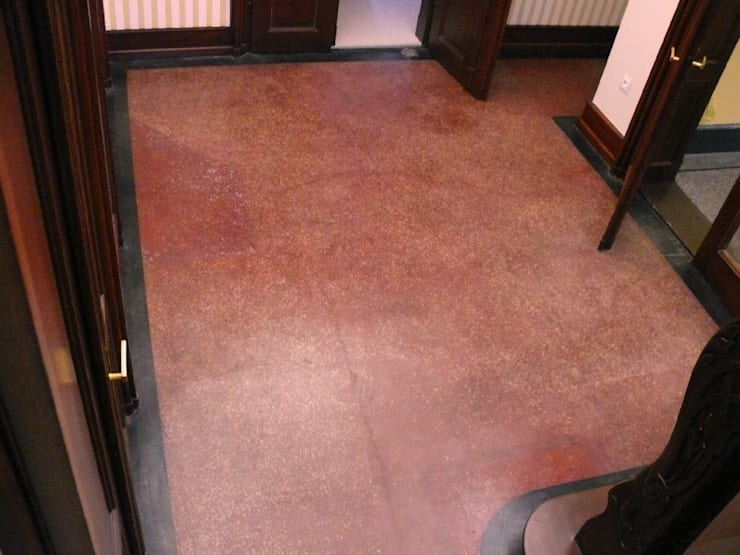 Fußboden Erneuern Beton ~ Leosteen fußböden von leosteen steinholz farbiger beton aus