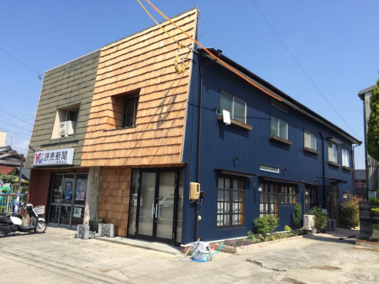 wood outer wall , wood roof: FRCHIS,WORKSが手掛けたです。