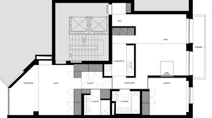 Planta da situação final:   por UMA Collective - Architecture
