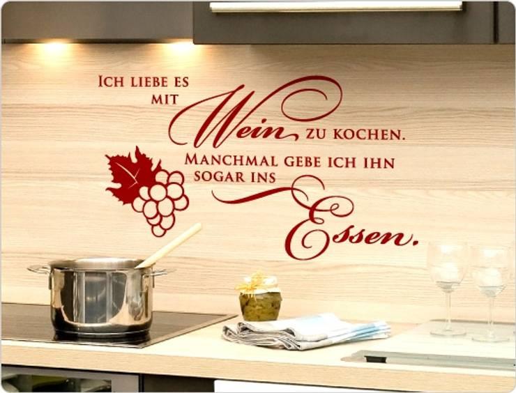 Wein:  Wände & Boden von I-love-Wandtattoo.de