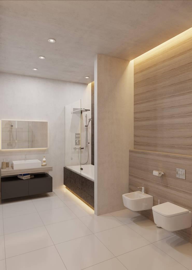 Loft Depre: Ванные комнаты в . Автор – Anna Clark Interiors,