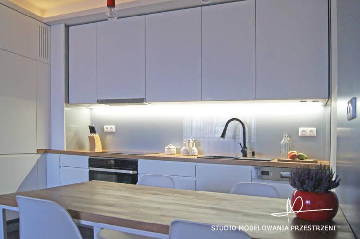 kuchnia: styl , w kategorii Kuchnia zaprojektowany przez Studio Modelowania Przestrzeni