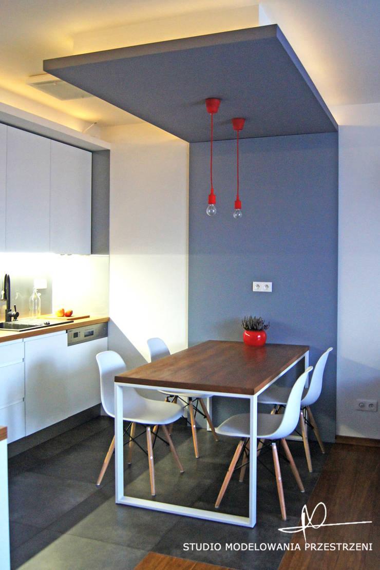 kuchnia kącik jadalny: styl , w kategorii Kuchnia zaprojektowany przez Studio Modelowania Przestrzeni