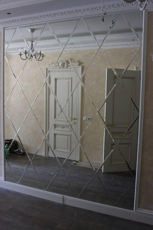 Зеркальная композиция/mirror composition: Гостиная в . Автор – ReflectArt
