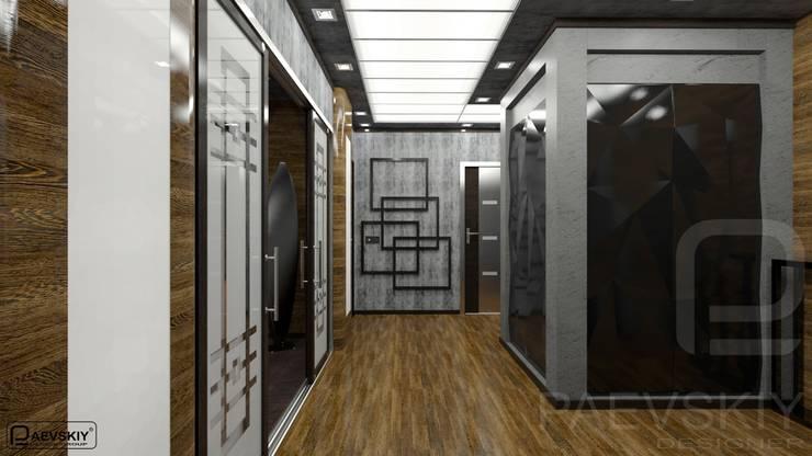 Квартира в современном стиле: Коридор и прихожая в . Автор – Константин Паевский-PAEVSKIYDESIGN