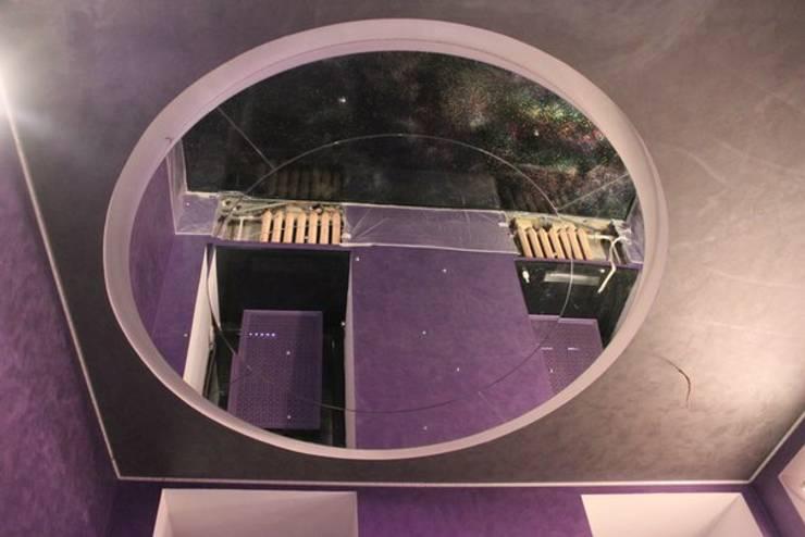Зеркальный потолок: Гостиная в . Автор – ReflectArt,