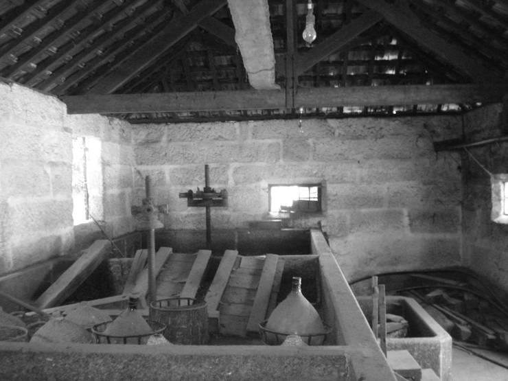 Antes da intervenção: Espaços de restauração  por raul sousa cardoso arqt