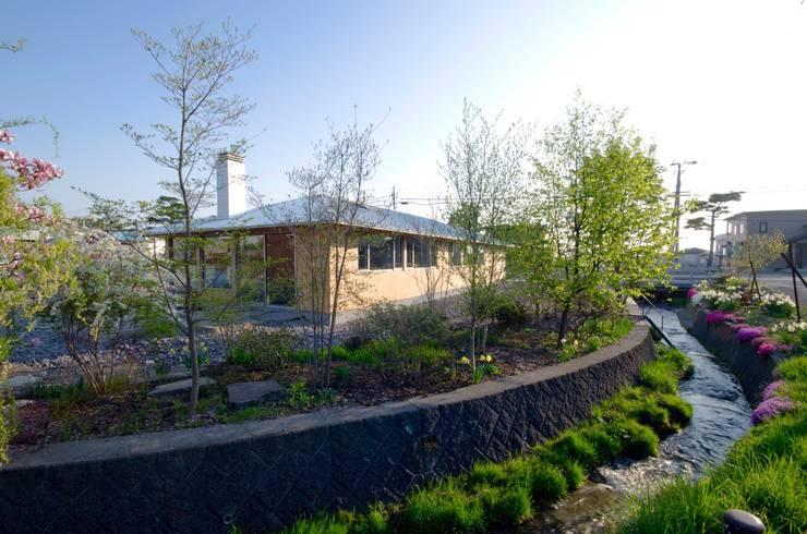 WABI-YA: 富樫雅行建築設計事務所が手掛けたです。