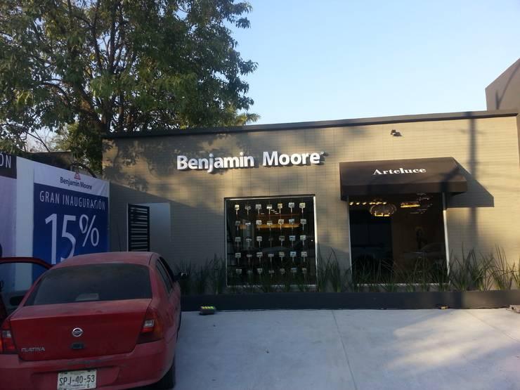 Benjamin Moore México: Cavas de estilo  por VIVAinteriores