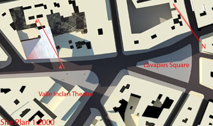 SELIM SENIN – vaziyet planı:  tarz Müzeler