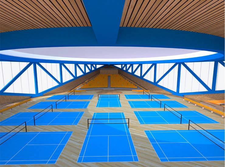 SELIM SENIN – Dalseong Uluslararası Jimnazyum Salonu:  tarz Sergi Alanları