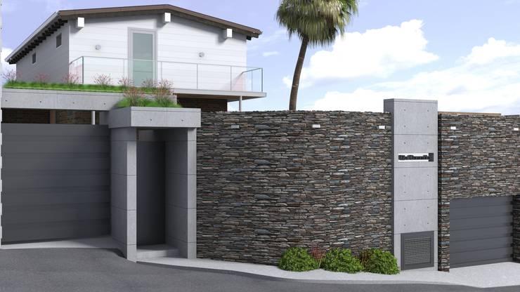 Propuesta para Fachada: Casas de estilo  por Gabriela Afonso