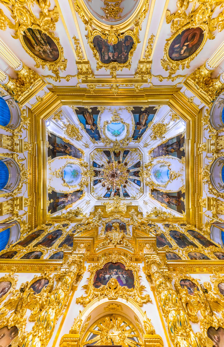 Церковный корпус Петродворца: Музеи в . Автор – Belimov-Gushchin Andrey
