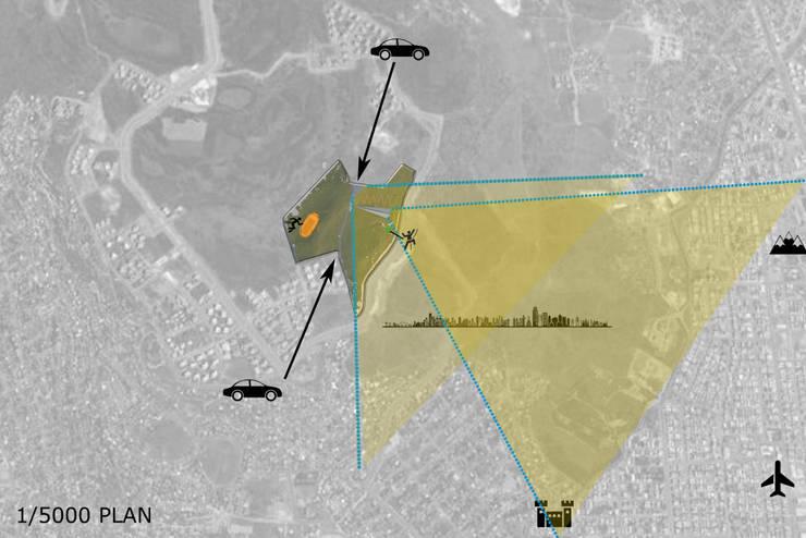 SELIM SENIN – Vaziyet Planı:  tarz Etkinlik merkezleri, Modern Ahşap Ahşap rengi