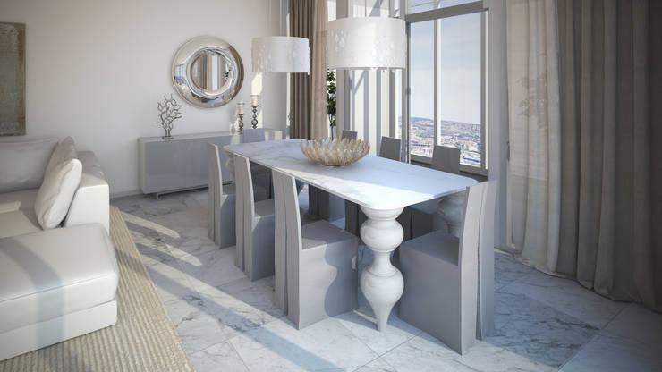 Diseño de Comedor: Comedores de estilo  por Gabriela Afonso