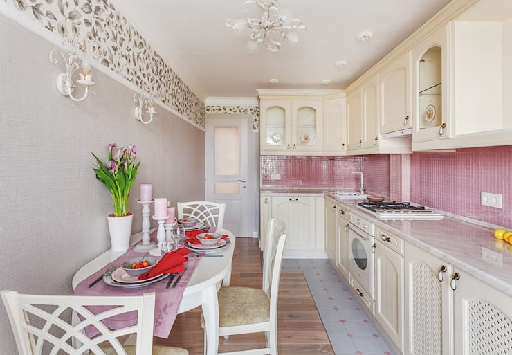 eclectic Kitchen by Marina Sarkisyan