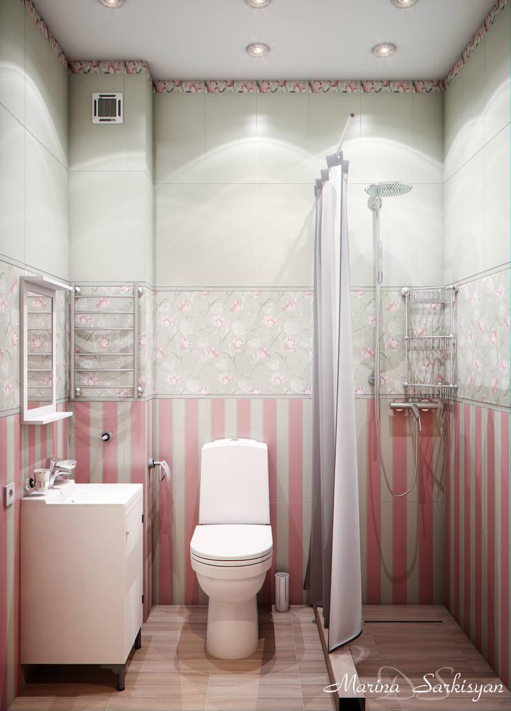 Colours of Provence: Ванные комнаты в . Автор – Marina Sarkisyan,