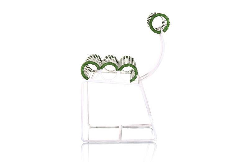 Silla roqueta: Comedor de estilo  por Maria Juana Art