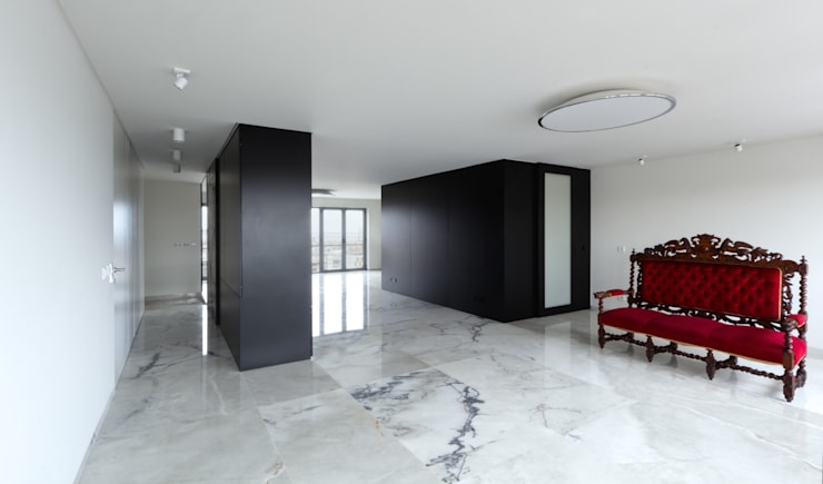 Apartamento Olivais: Salas de estar  por nmdarq