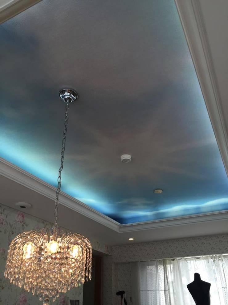 青空: Wall Design Office HapyWalが手掛けた壁&床です。
