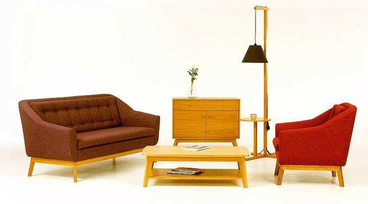 Kolekcja mebli do salonu Paula&Paula: styl , w kategorii Salon zaprojektowany przez onemarket.pl