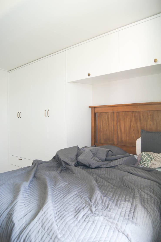 대전광역시 서구 둔산동 햇님마을 아파트 27PY: 위드디자인의  침실