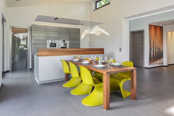 modern Dining room by Lopez-Fotodesign