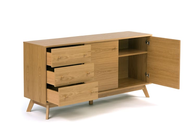 Oleh onemarket.pl Eklektik Kayu Wood effect