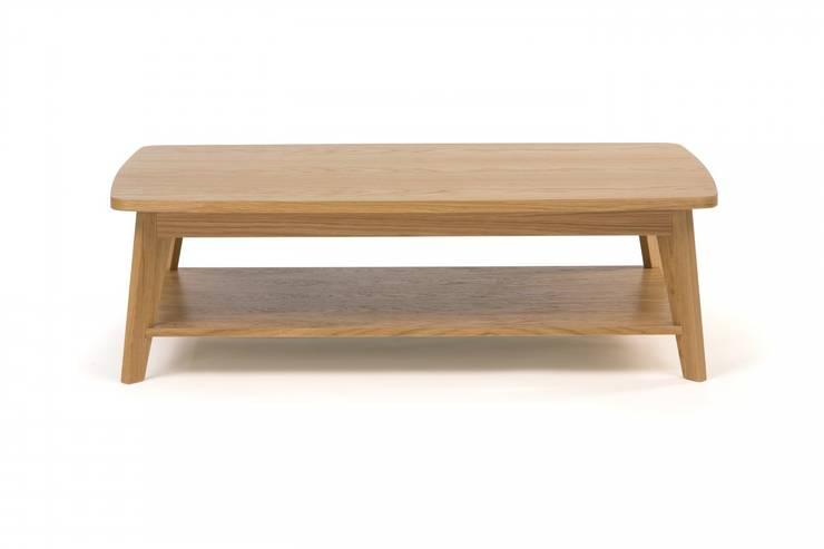 Oryginalny stolik kawowy Kensal: styl , w kategorii  zaprojektowany przez onemarket.pl,Skandynawski Drewno O efekcie drewna