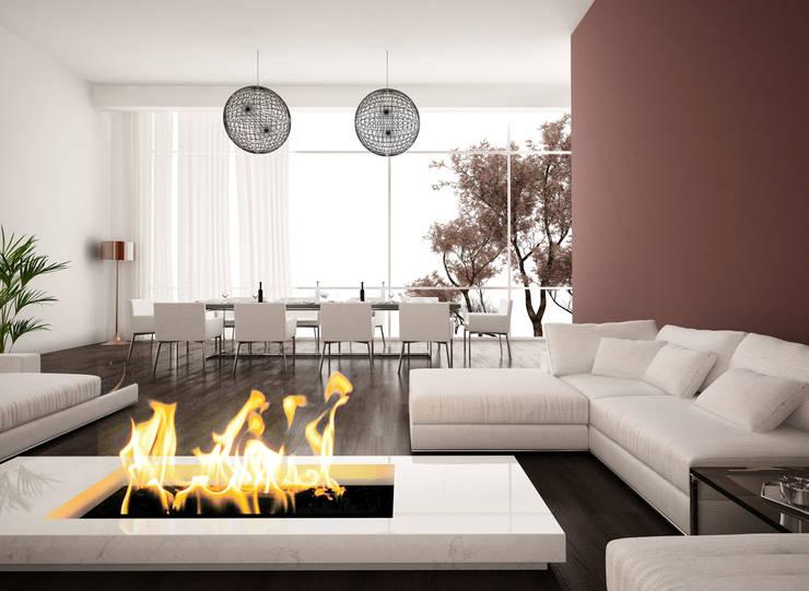 Salas de estilo moderno por Gruppo San Marco