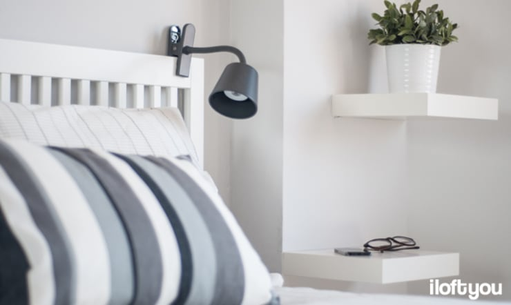 Piso en Les Corts: Dormitorios de estilo  de iloftyou