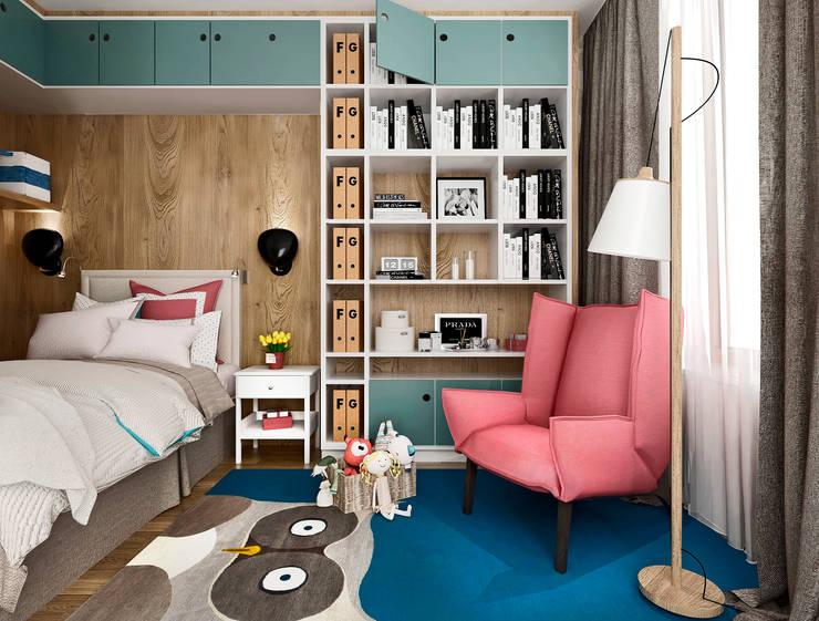 APARTMENT/3: Детские комнаты в . Автор – ONE STUDIO, Классический