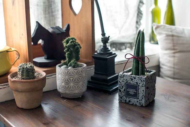 시멘트 사각화분 : 러브피어리의  가정 용품