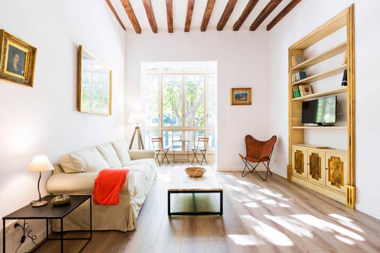 Projekty,  Salon zaprojektowane przez ISLABAU constructora