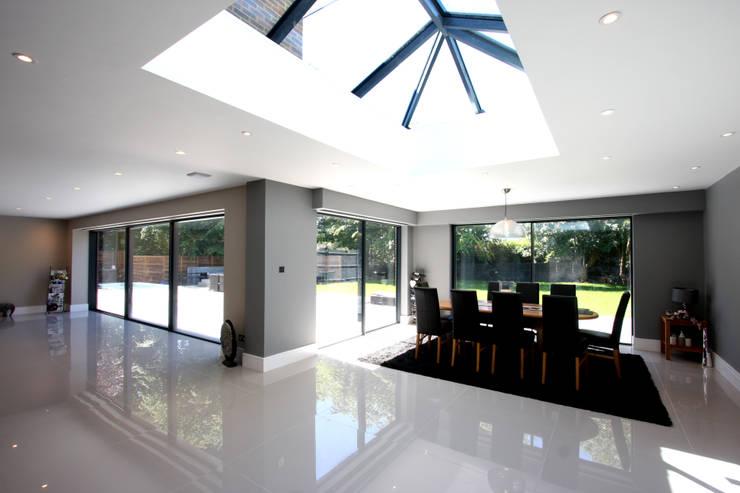 Projekty,  Okna zaprojektowane przez IQ Glass UK