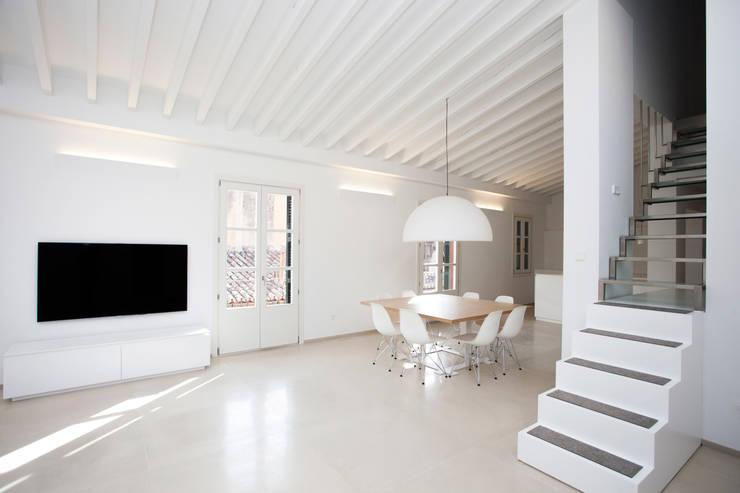 Столовые комнаты в . Автор – ISLABAU constructora, Минимализм