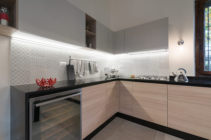 modern Kitchen by B+P architetti