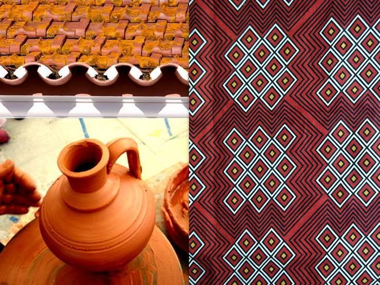 padrão 3- terracota: Casa  por tramadesign