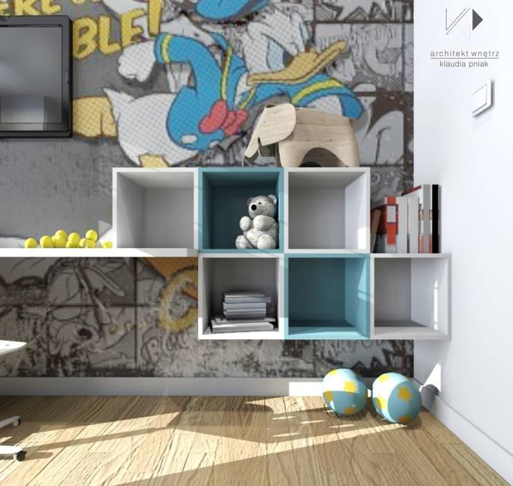 Architekt wnętrz Klaudia Pniak:  tarz Çocuk Odası