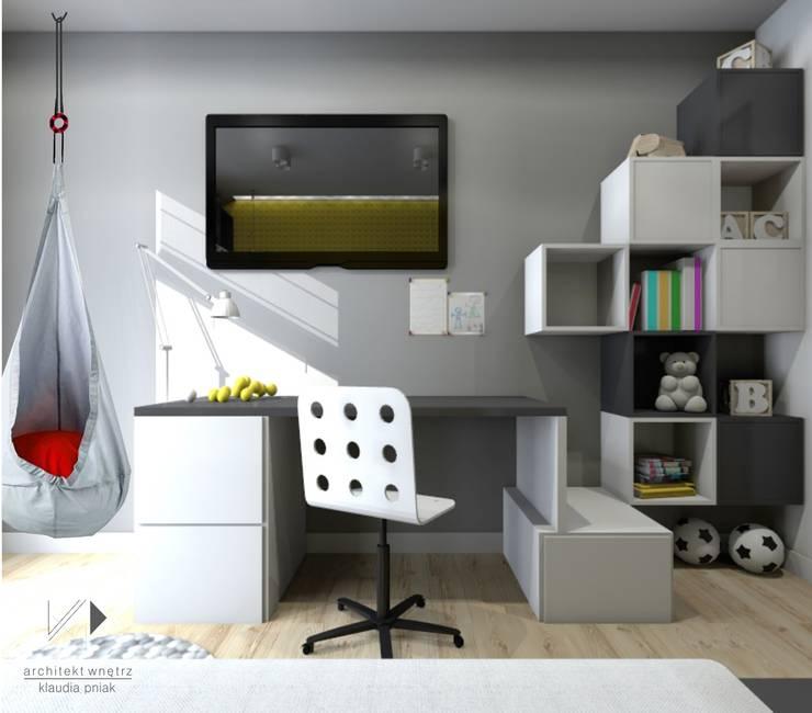 Pokój dziecięcy,VOX: styl , w kategorii Pokój dziecięcy zaprojektowany przez Architekt wnętrz Klaudia Pniak