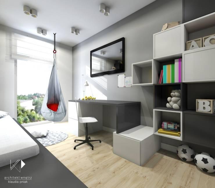 Pokój dziecięcy,VOX: styl , w kategorii Pokój multimedialny zaprojektowany przez Architekt wnętrz Klaudia Pniak