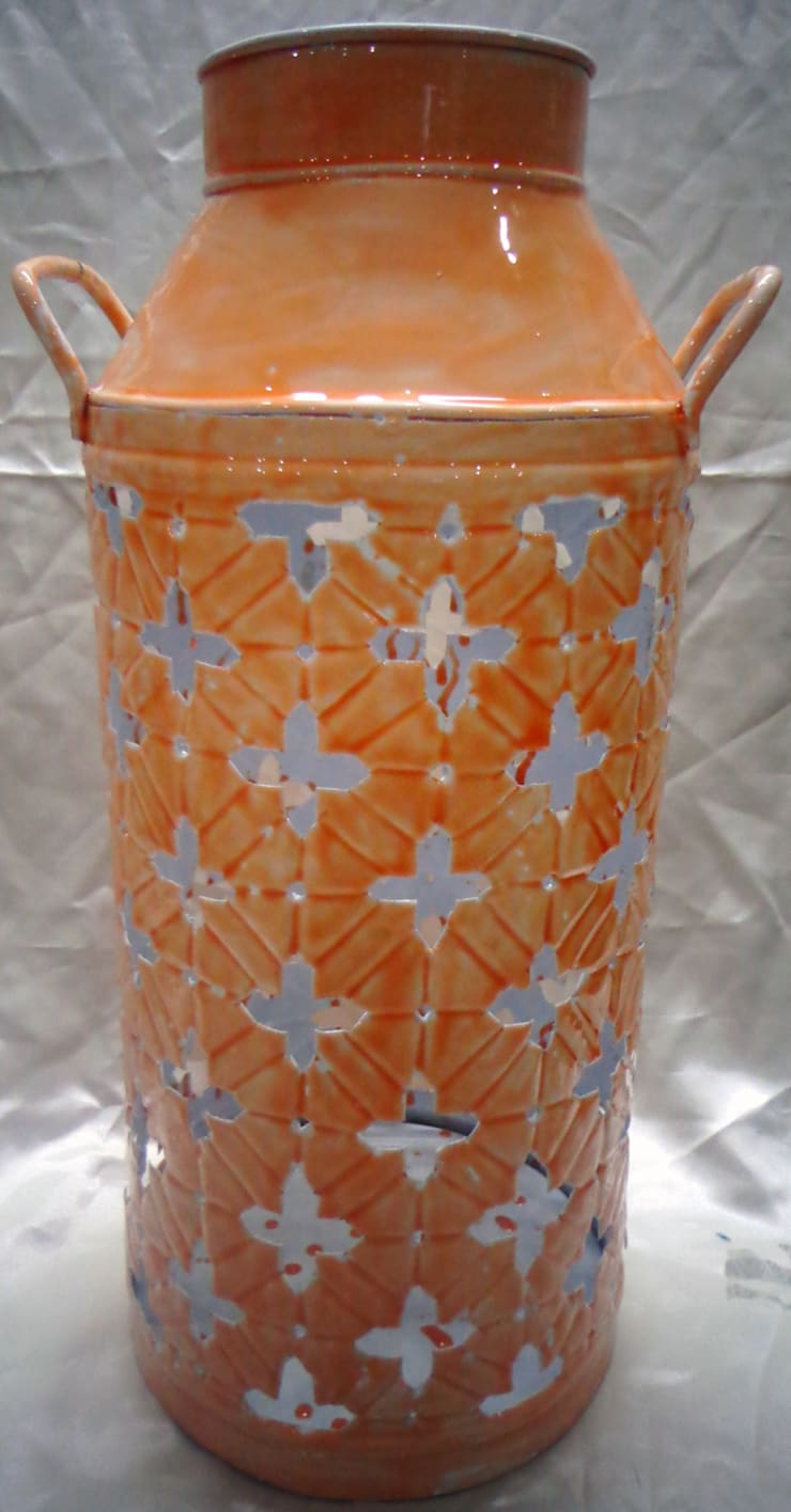 Hand Crafted Ceramic Lantern:  Living room by Overseas Trading Corporation