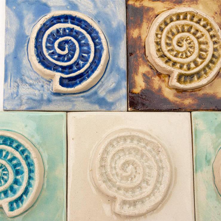 Dekory Amonity: styl , w kategorii  zaprojektowany przez Dekory Nati,Śródziemnomorski Ceramika