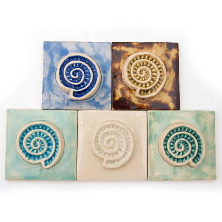 Dekory Amonity: styl , w kategorii  zaprojektowany przez Dekory Nati,Kolonialny Ceramika