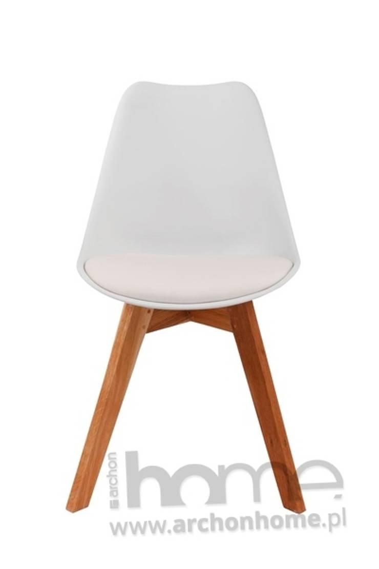 Krzesło Norden Cross: styl , w kategorii  zaprojektowany przez ArchonHome.pl,Nowoczesny