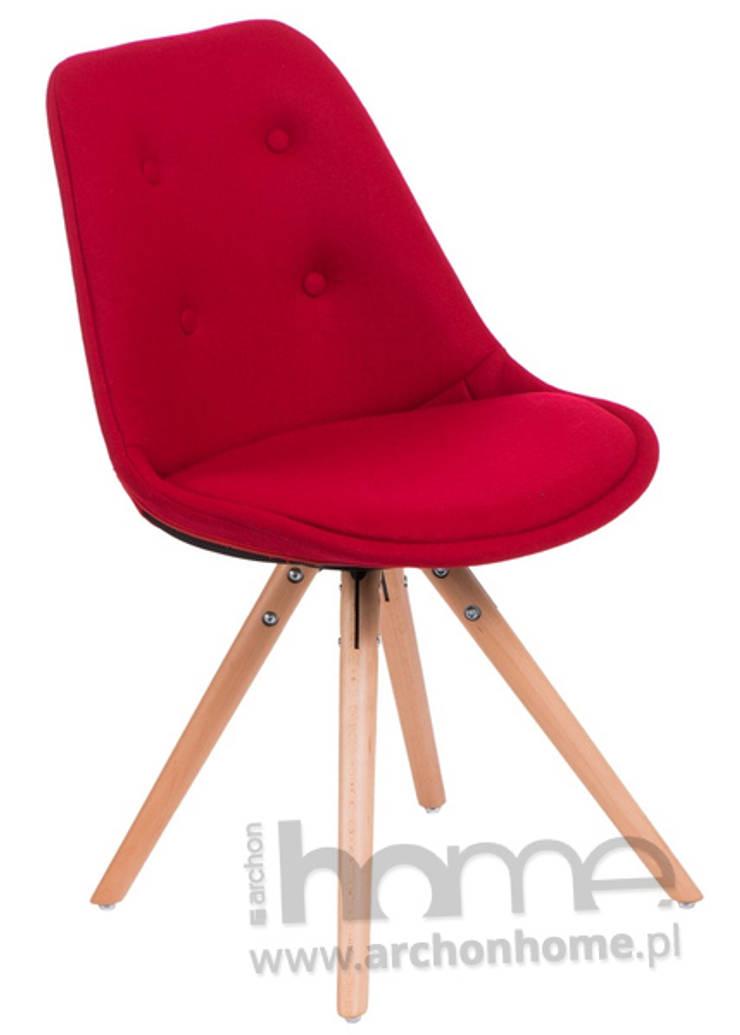 krzesło Norden Star pikowane: styl , w kategorii  zaprojektowany przez ArchonHome.pl,Nowoczesny