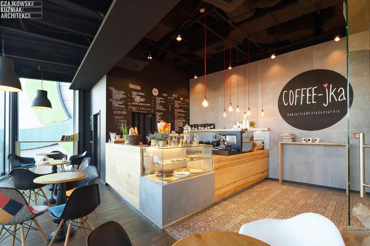COFFEE-JKA: styl , w kategorii  zaprojektowany przez Czajkowski Kuźniak Architekci