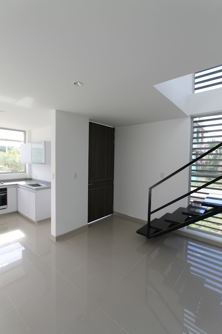 Residencial Campestre: Ventanas de estilo  por Alzatto Arquitectos, Moderno