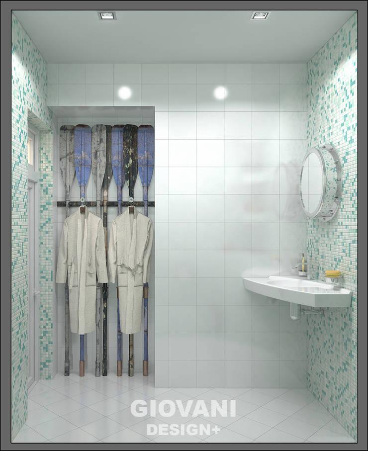 в морском стиле : Ванные комнаты в . Автор – Giovani Design Studio
